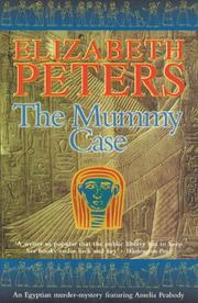 Cover of: The Mummy Case (Amelia Peabody Murder Mystery) | Elizabeth Peters