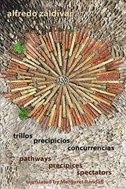 Cover of: trillos / precipicios / concurrencias - pathways / precipices / spectators | Alfredo Zaldivar