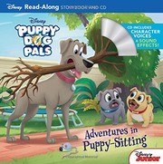 Cover of: Puppy Dog Pals Read-Along Storybook and CD Adventures in Puppy-Sitting | Disney Book Group