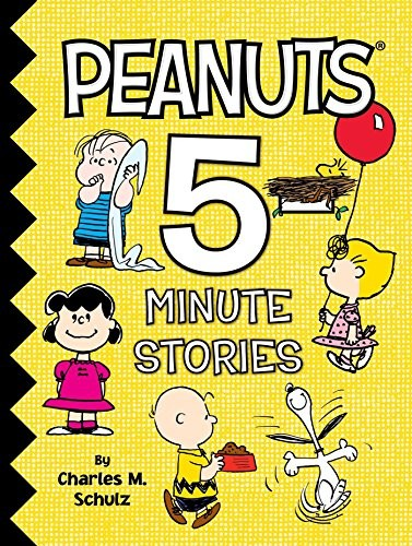 Peanuts 5-Minute Stories by Charles M. Schulz