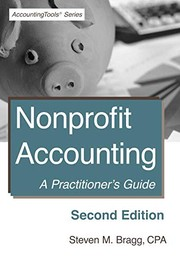 Cover of: Nonprofit Accounting : Second Edition | Steven M. Bragg