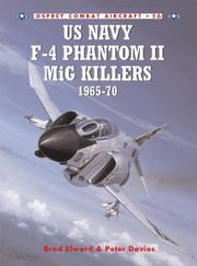 Cover of: US Navy F-4 Phantom II MiG Killers (1) 1965-1970 | Brad Elward