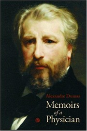 Cover of: Memoirs of a physician | Alexandre Dumas