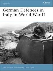 Cover of: German Defences in Italy in World War II (Fortress) | Neil Short