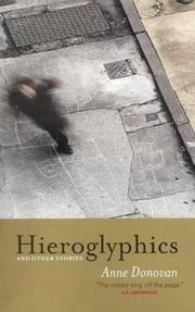 Cover of: Hieroglyphics by Donovan, Anne.