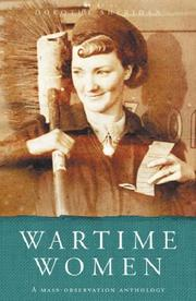 Cover of: Wartime Women by Dorothy Sheridan