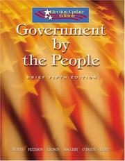 Cover of: Government by the people | James MacGregor Burns, J. W. Peltason, Tom Cronin, David O'Brien, David Magleby, Paul Light