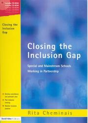 Cover of: Closing the Inclusion Gap | Rita Cheminais