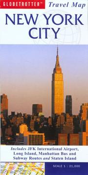 Cover of: New York Travel Map | Globetrotter