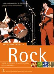 Cover of: The Rough Guide Rock 3rd Ed | ROUGH GUIDES