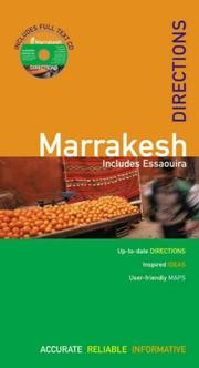Cover of: The Rough Guides' Marrakesh Directions 1 | Daniel Jacobs