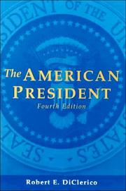 Cover of: American President, The | Robert E. Diclerico