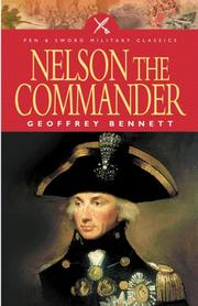 Cover of: NELSON THE COMMANDER (Military Classics) | Geoffrey Bennett