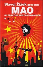 Cover of: On Practice and Contradiction (Revolutions) | Mao Zedong