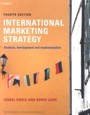 Cover of: International marketing strategy | Isobel Doole, Robin Lowe