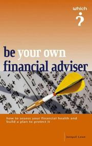 "Cover of: Be Your Own Financial Adviser (""Which?"" Guides) 