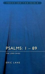 Cover of: Psalms Chapters 1-89 | Eric Lane