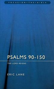Cover of: Psalms 90-150 | Eric Lane