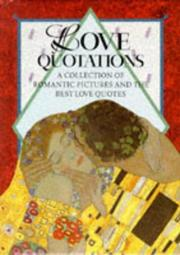 Cover of: Love Quotations by Helen Exley
