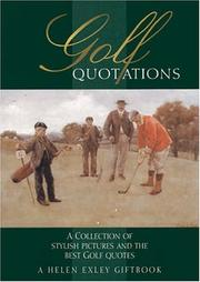 Cover of: Golf Quotations by Helen Exley
