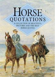 Cover of: Horse Quotations (Quotations Books) | Helen Exley