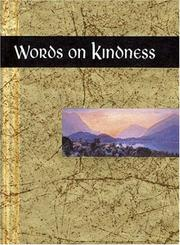 Cover of: Words on Kindness (Words for Life) by Helen Exley