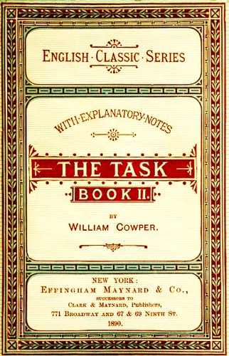 The Task by William Cowper