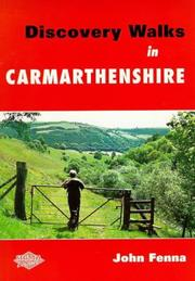 Cover of: Discovery Walks in Carmarthenshire | John Fenna