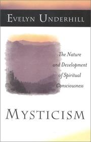 Cover of: Mysticism by Evelyn Underhill