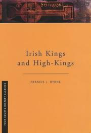 Cover of: Irish kings and high-kings by F. J. Byrne
