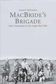 Cover of: MacBride's brigade | Donal P. McCracken