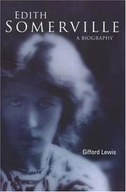 Cover of: Edith Somerville by Gifford Lewis
