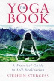 Cover of: The yoga book by Stephen Sturgess