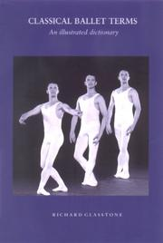 Cover of: Classical Ballet Terms | Richard Glasstone