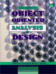 Cover of: Case studies in object-oriented analysis and design | Edward Yourdon