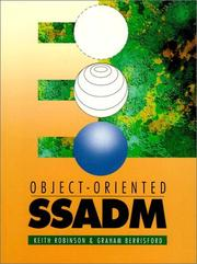 Cover of: Object oriented SSADM | Robinson, Keith.