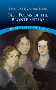 Cover of: Poems by the Brontë Sisters | Charlotte Brontë, Emily Brontë, Anne Brontë