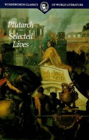 Cover of: Lives of the Noble Grecians and Romans | Plutarch