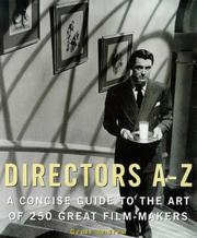 Cover of: Directors A-Z by Geoff Andrew