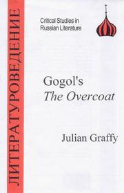 "Cover of: Gogol's ""the Overcoat"" 