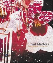 Cover of: Print Matters | Sean Rainbird