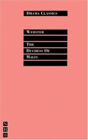 Cover of: The Duchess of Malfi | John Webster