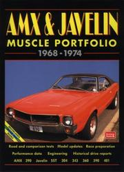 Cover of: Amx & Javelin Muscle Portfolio 1968-1974 (Muscle Portfolio) | R. M. Clarke
