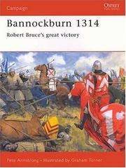 Cover of: Bannockburn, 1314 by Pete Armstrong
