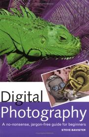 Cover of: Digital photography by Steve Bavister