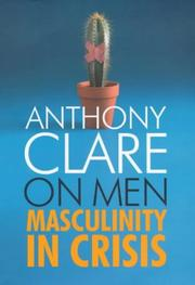 Cover of: On Men by Anthony W. Clare