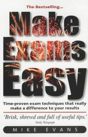 Cover of: Make Exams Easy by Mike Evans