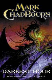 Cover of: Darkest Hour (The Age of Misrule, Book 2) by Mark Chadbourn