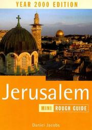 Cover of: The Rough Guide to Jerusalem by Daniel Jacobs