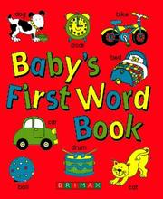 Cover of: Baby's First Word Book by Lorna Kent